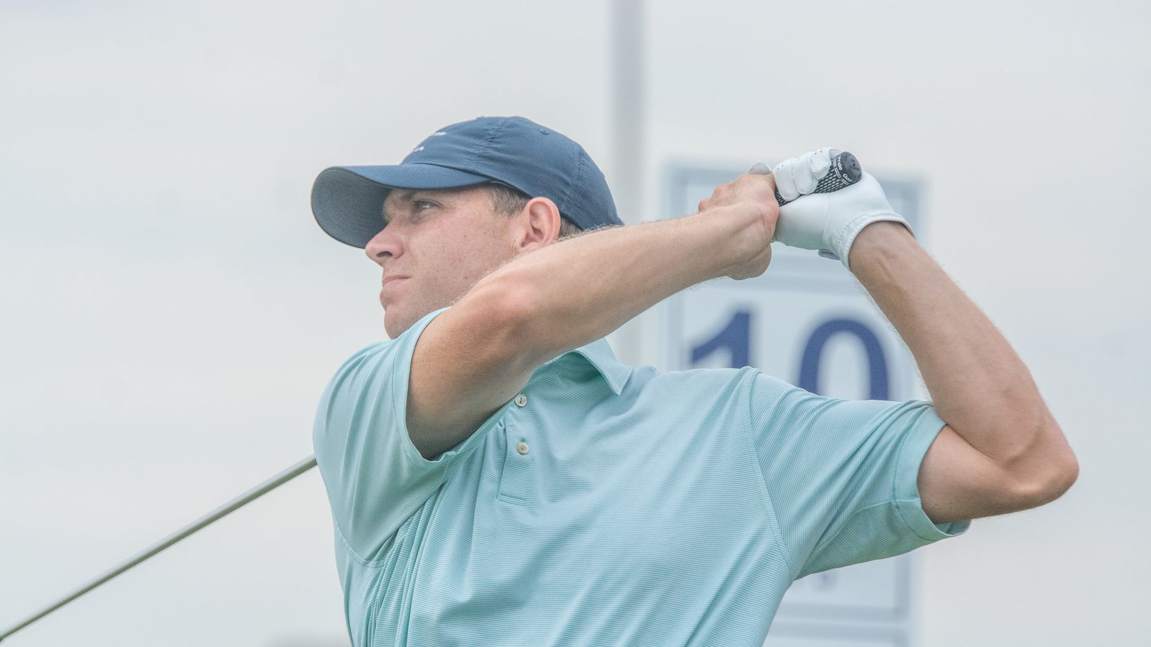 Chad Moscovic, the director of instruction at Brook Hollow Country Club, rolled to a four-shot victory in the Northern Texas PGA Professional Championship with a 10-under 132 at Wildhorse Golf Club at Robson Ranch in Denton on Tuesday, Aug. 18, 2020.