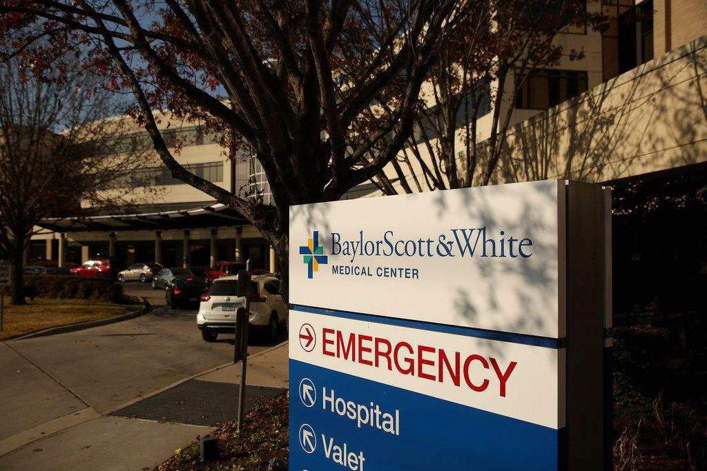 An exterior view of Baylor Scott & White Medical Center Garland along Marie Curie Boulevard in Garland, Texas Thursday December 14, 2017. (Andy Jacobsohn/The Dallas Morning News)