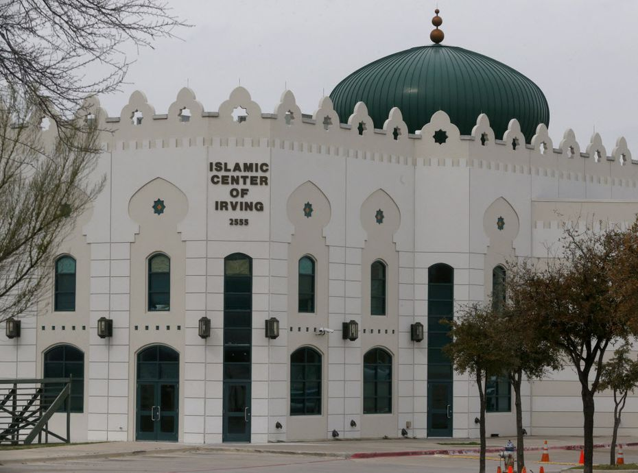 The Islamic Center of Irving at 2555 Esters Rd, pictured, on March 18, 2015.