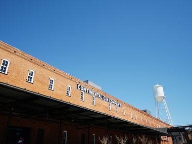 Built in 1888, the Continental Gin building east of downtown Dallas has been turned into an office and retail building.