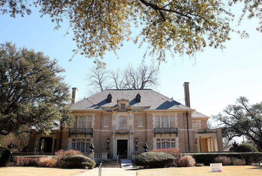 The Aldredge House on Swiss Avenue on Wednesday, Jan. 24, 2018. (Rose Baca/The Dallas Morning News)