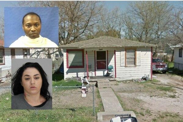 Desmond Kintwaya Bethany y Bailey Jane Hance fuero arrestados por dirigir una red de tráfico humano en West Dallas.