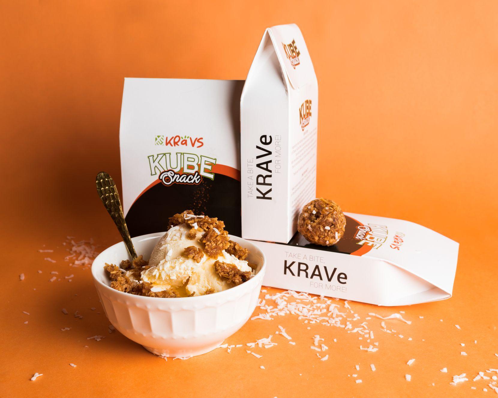 Joseline Ballard sells her Kravs pies at the Dallas Farmers Market and online.