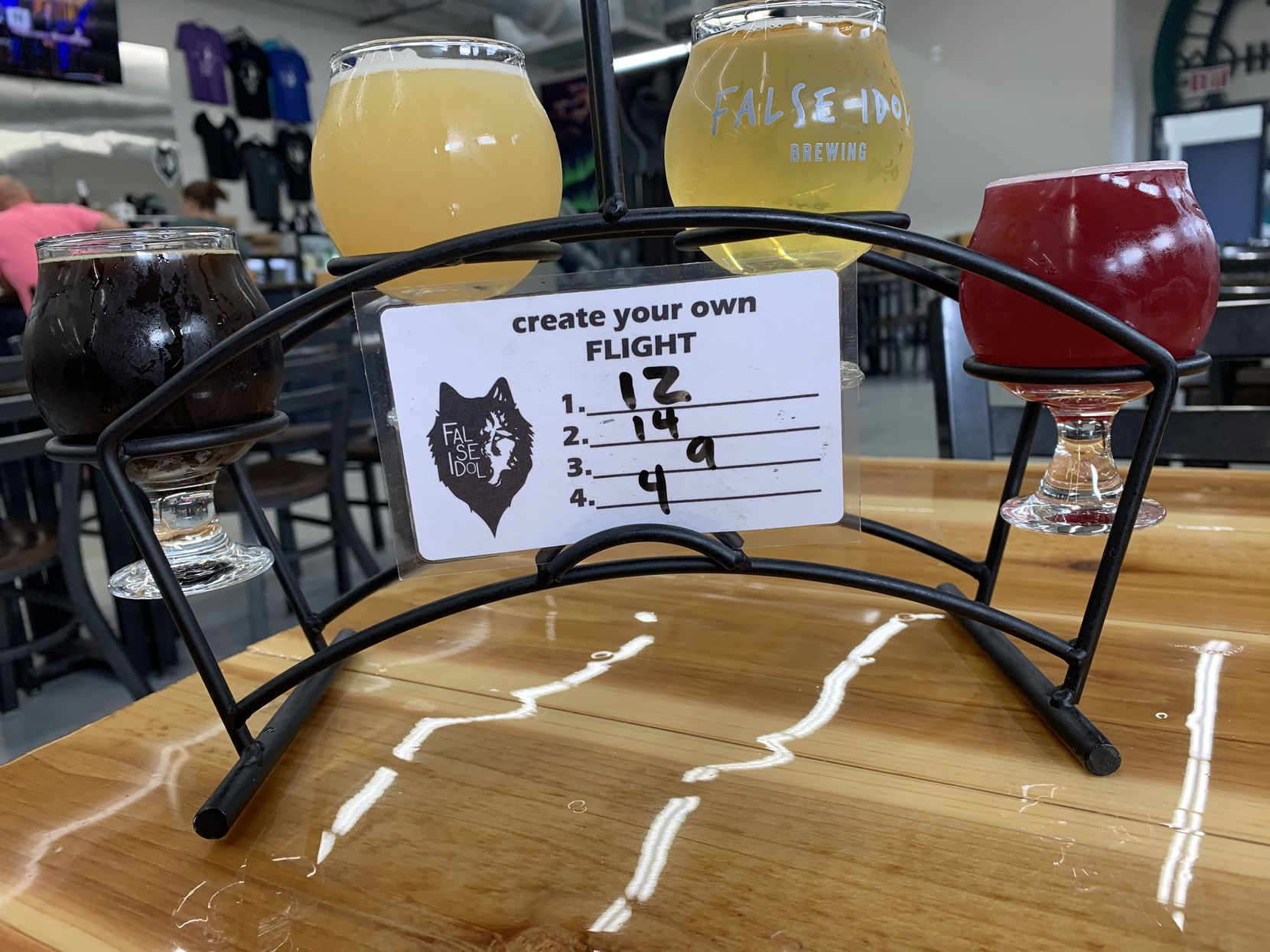 False Idol Brewing is located in North Richland Hills