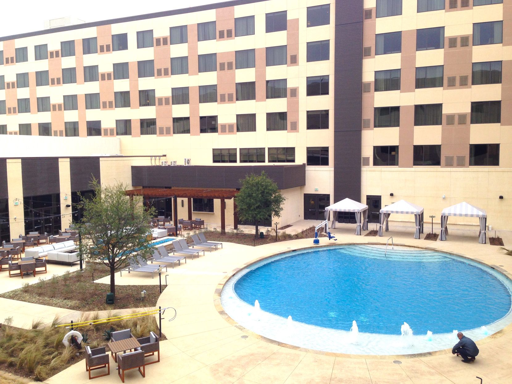 The 300-room Delta by Marriott Hotel is the brand's first location in North Texas.