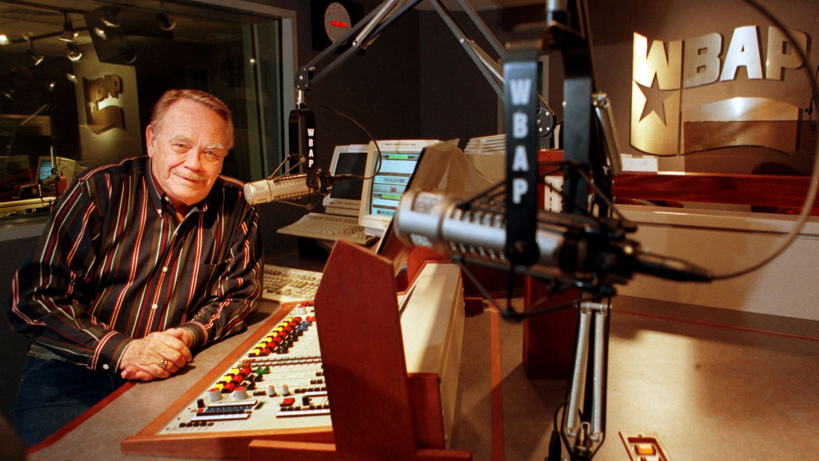 "WBAP's ""The Midnight Cowboy"" Bill Mack pictured in 1997."
