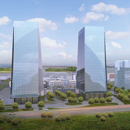 Frisco Station - which recently announced plans for a second 6-story office building - also has plans for office towers.