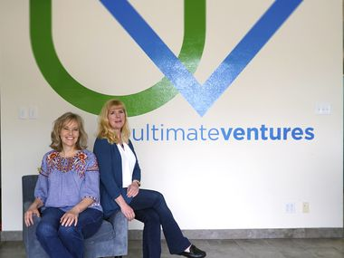 Val Lenington (left) and Laurie Sprouse are co-owners of Ultimate Ventures, an event planning company. They're tapping all the available government help for small business because they don't expect their industry to rebound until the fall.