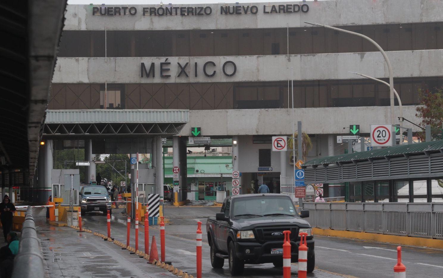 El puente Internacional entre Laredo, Texas y Nuevo Laredo, Tamaulipas, México.