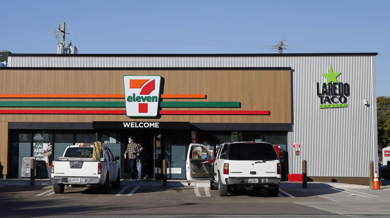 """This 7-Eleven on the southwest corner of Audelia Road and Walnut Hill Lane is one of the retailer's """"evolution stores"""" where it plans to test several ideas. The first one opened last year in West Dallas."""