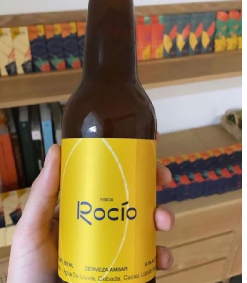 Según publicaciones hechas por la modelo venezolana Irene Esser, novia de Andrés Manuel Jr., en su cuenta de Instagram, las cervezas Finca Rocío serían elaboradas en la finca localizada en Teapa, Tabasco.