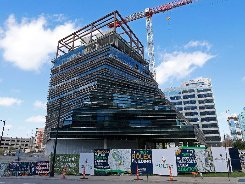 The HARWOOD No. 8 - The New Rolex Building in the Harwood District on Thursday, March 23, 2017, in Dallas. (Jae S. Lee/The Dallas Morning News)