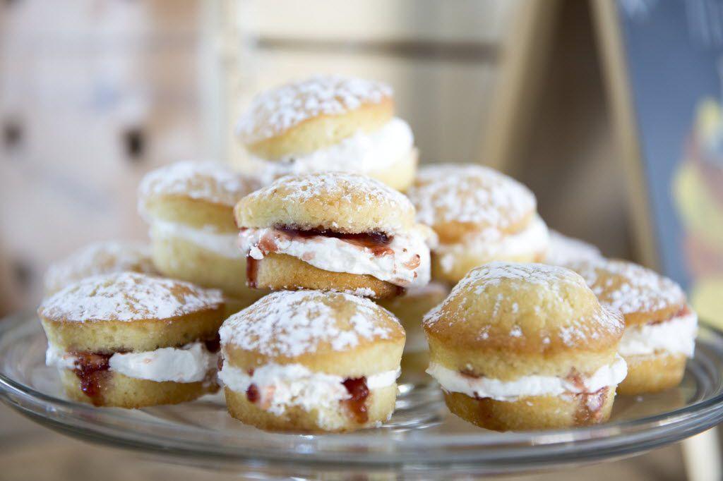 The Proper Baking Co.'s mini Victoria sponges.