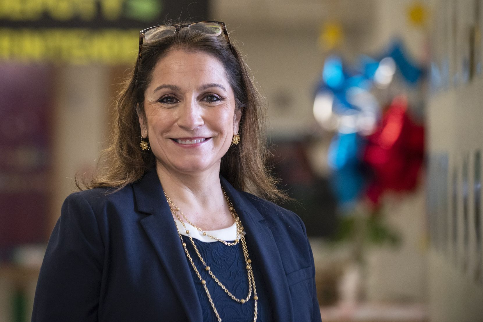 Susana Cordova, DISD deputy superintendent, is getting to know her new district by touring campuses and meeting the leaders, teachers and students at each.