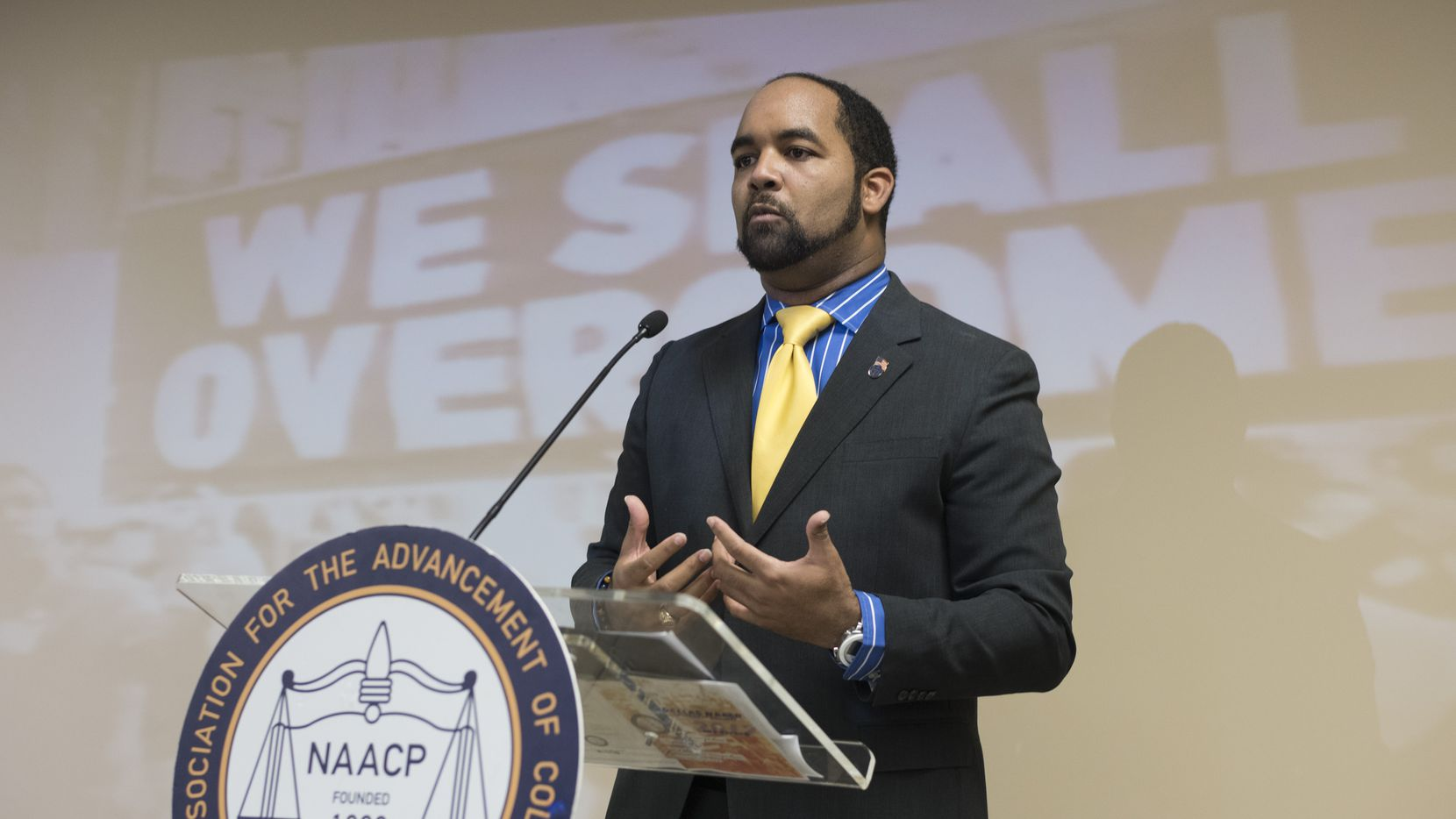Dallas NAACP president Aubrey Hooper is stepping down to start Blind Spot Diagnostic LLC, a consulting firm specializing in business strategies, education, nonprofits and politics.      (Rex C. Curry/Special Contributor)