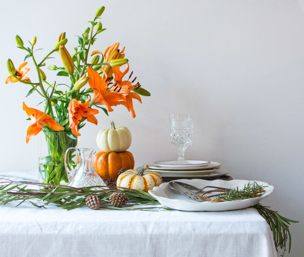 Holiday Tabletop: Let your tabletop be a mix of old and new, expensive and inexpensive, shiny and matte.