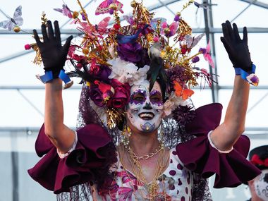 The Las Colinas Day of the Dead festival is Saturday at Toyota Music Factory in Irving.