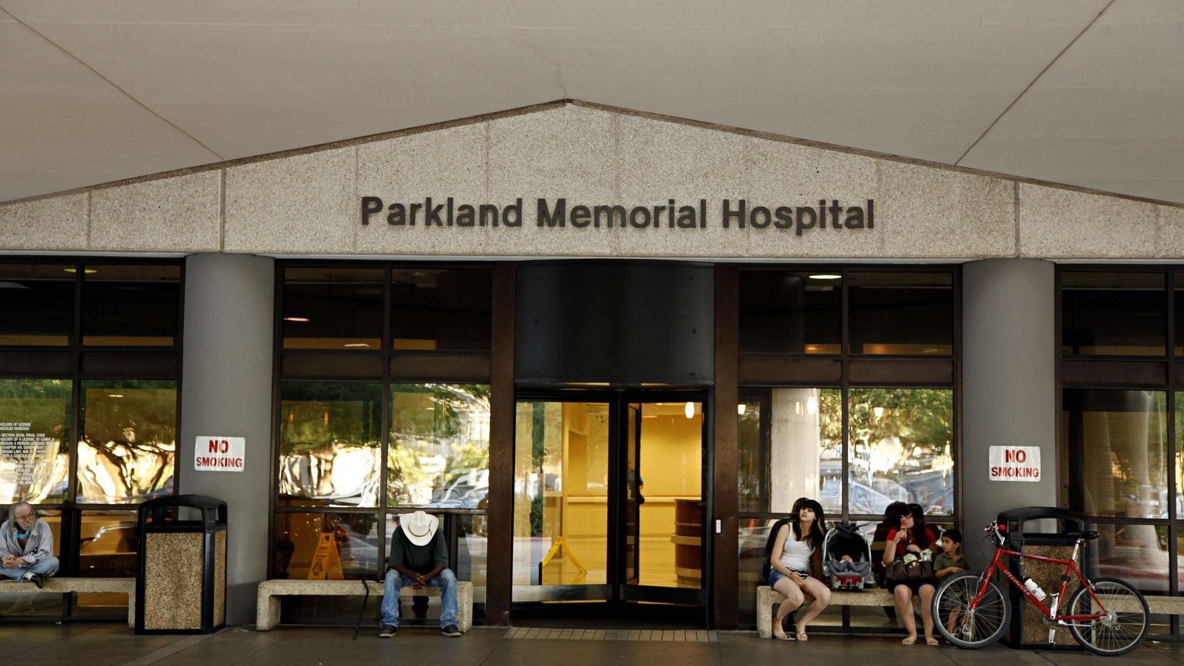 Parkland Memorial Hospital said the patient-gagging incident in the psychiatric emergency room was discovered on April 8 during a routine review of security video from March 16. Parkland notified the Texas health department within a day, it said, in compliance with regulations.