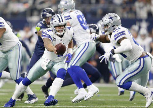 El juego aéreo es disfuncional en los Dallas Cowboys y eso pudo ser la razón de que estén fuera de los playoffs.  Foto DMN