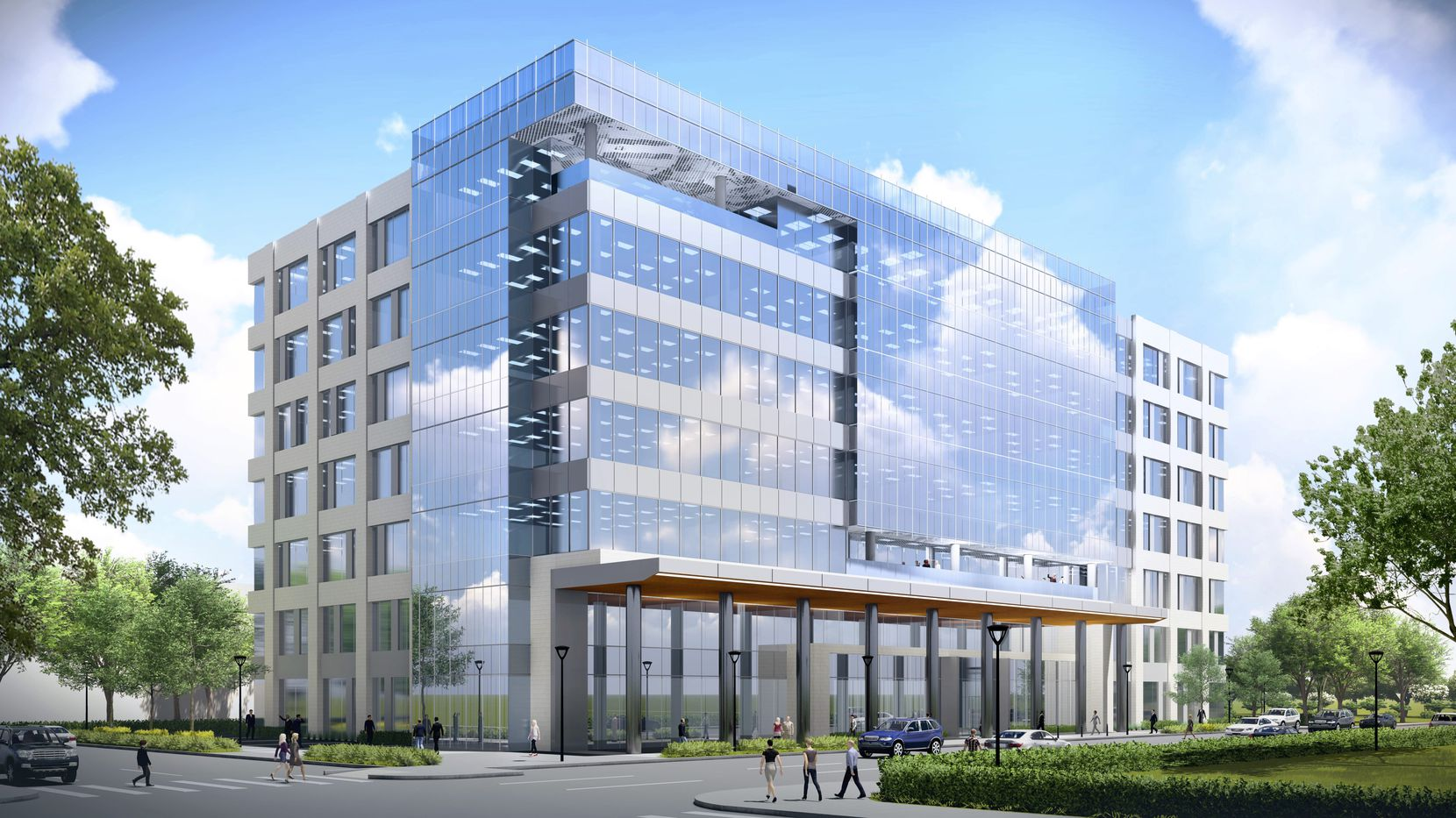 The Legacy South office building will open in early 2019.