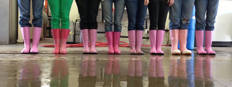 Pints Boots Society is a network of women that empower each other to further female careers in brewing.