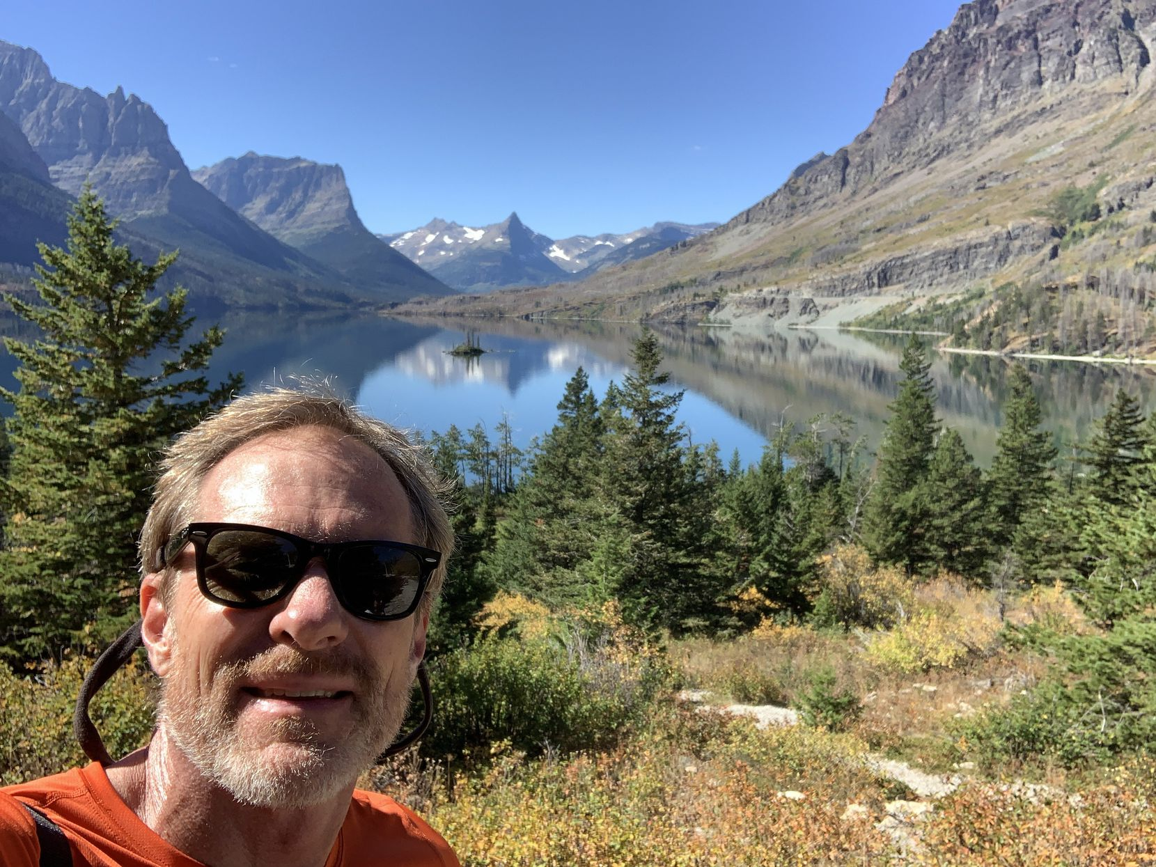 Don Wilks has spent most of the last year in Florida, Wyoming and Montana, where he took a selfie in Glacier National Park.