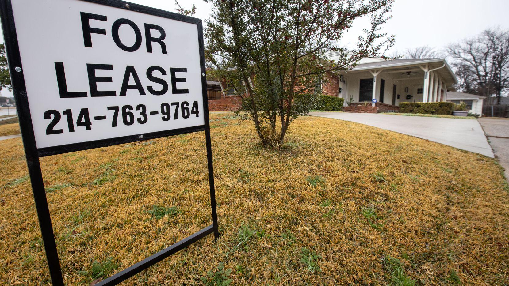 Los precios para la renta de una propiedad en Dallas y Fort Worth subieron 13.7% en el último año.