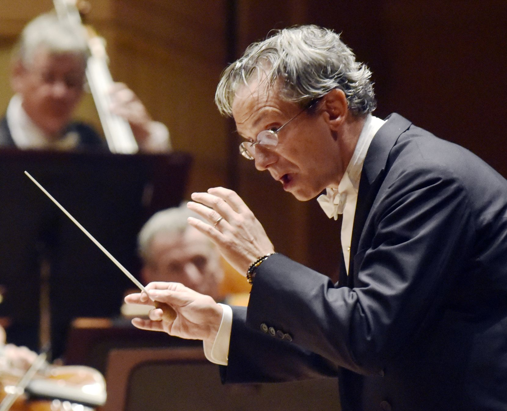 Fabio Luisi leads the DSO in a performance of Beethoven's Fourth Piano Concerto at the Morton H. Meyerson Symphony Center on March 8, 2018.