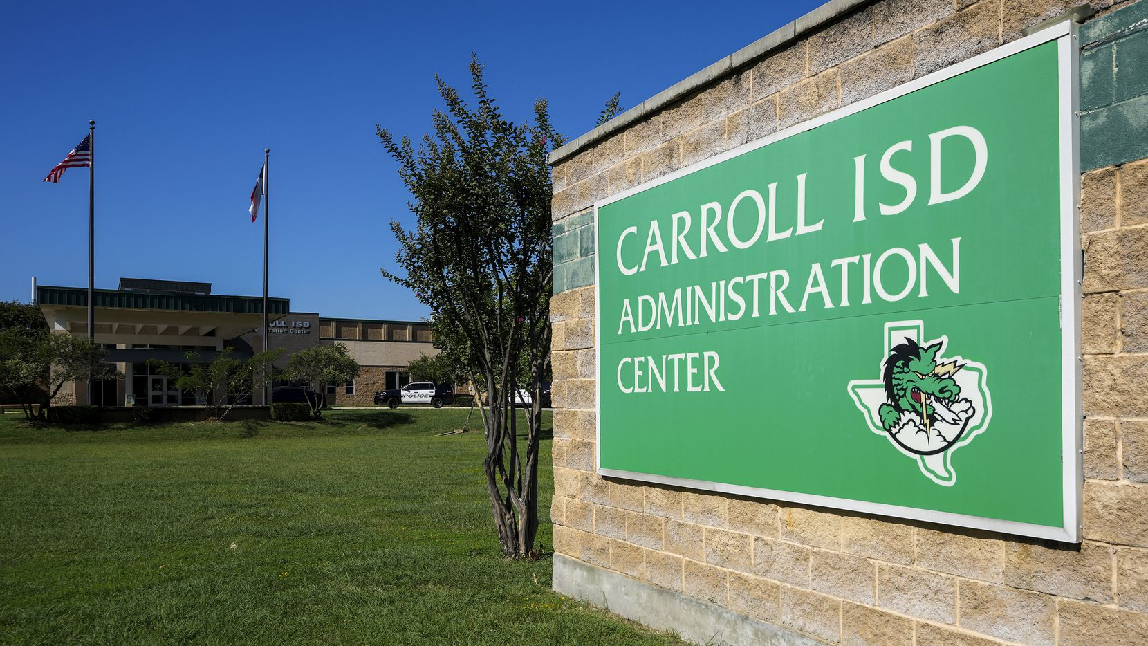 Two Carroll ISD school board candidates will meet in a town hall Oct. 12. (Smiley N. Pool/The Dallas Morning News)