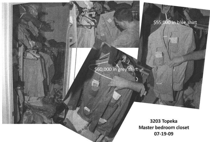 Denton police photos taken at Santos Coria's house during a search in July 2009.