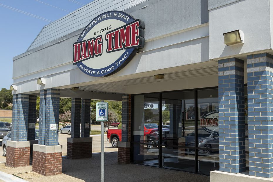 Hang Time is a sports bar and restaurant in Rowlett, near Lake Ray Hubbard.