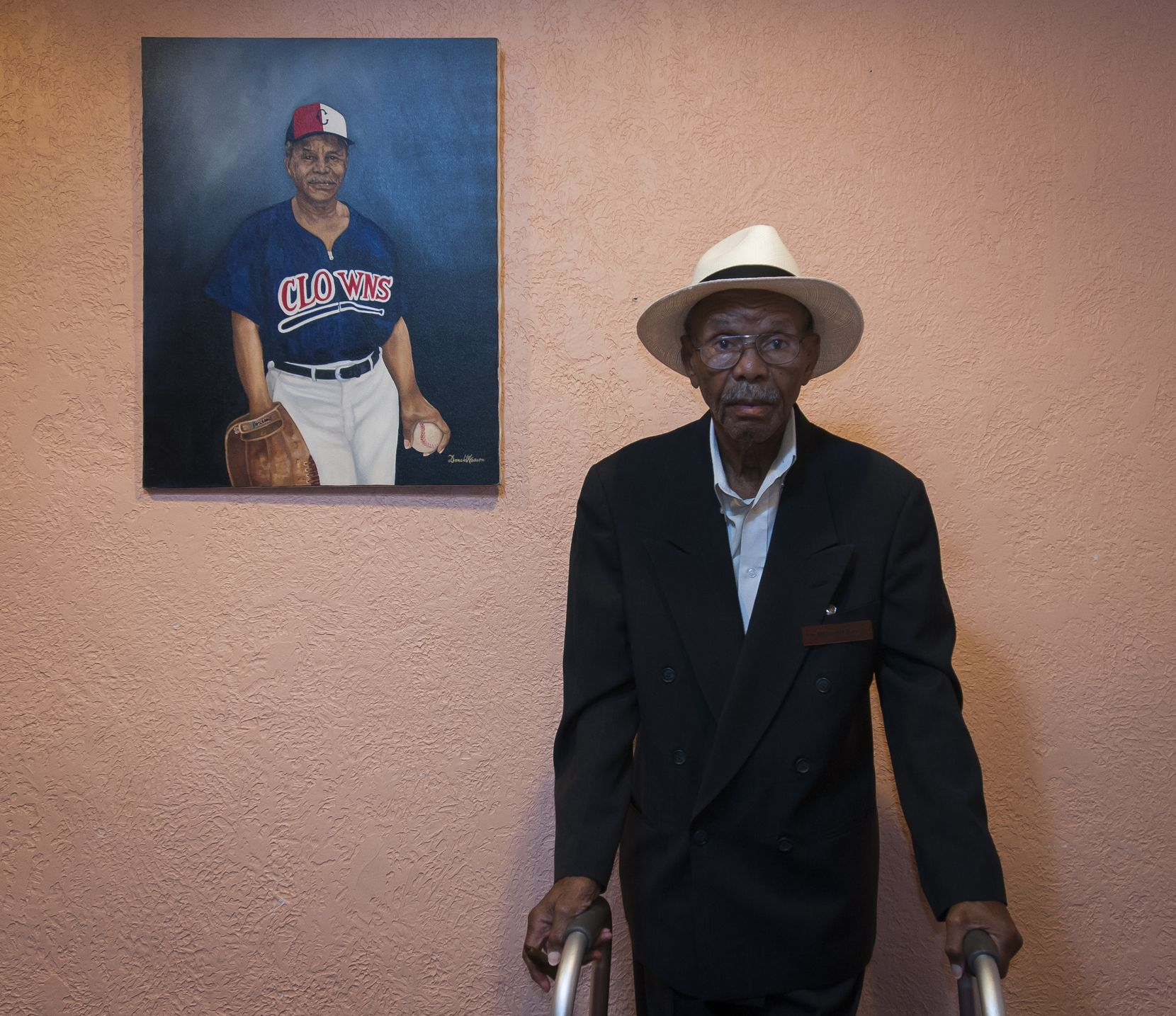 William Blair founded the weekly Elite News after pitching in the Negro Leagues.