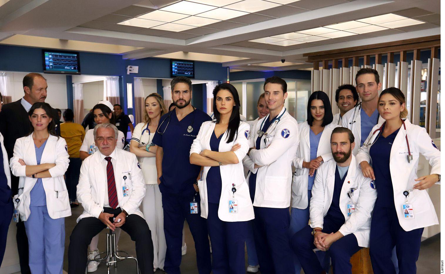 """Con sólo un mes de grabaciones, la producción de """"Médicos"""" ya mandó a uno de sus actores al hospital."""