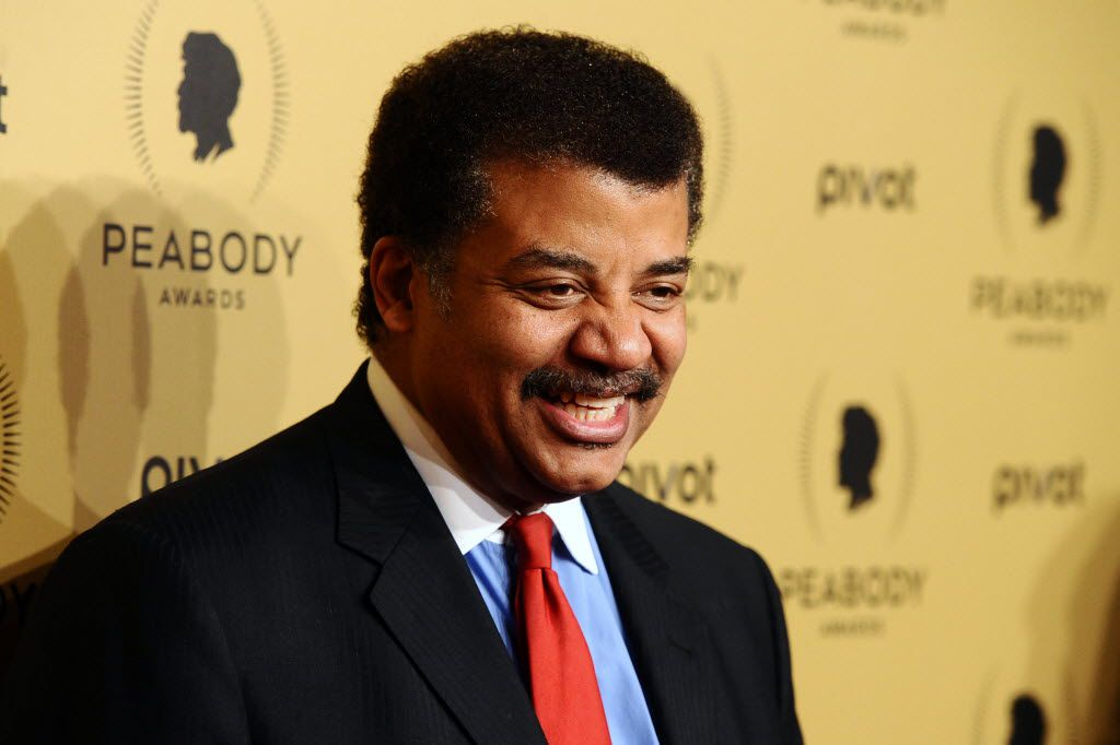 Astrophysicist Neil DeGrasse Tyson is making a cameo in 16-year-old Evan Hara's movie about space travel, The Boundary. (Charles Sykes/Invision)