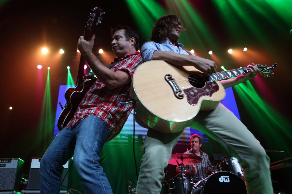 Old 97's Ken Bethea and Rhett Miller perform at the sixth annual Homegrown Fest in Dallas. The band may have been around for awhile -- and may be 'old' -- but they can still rock.