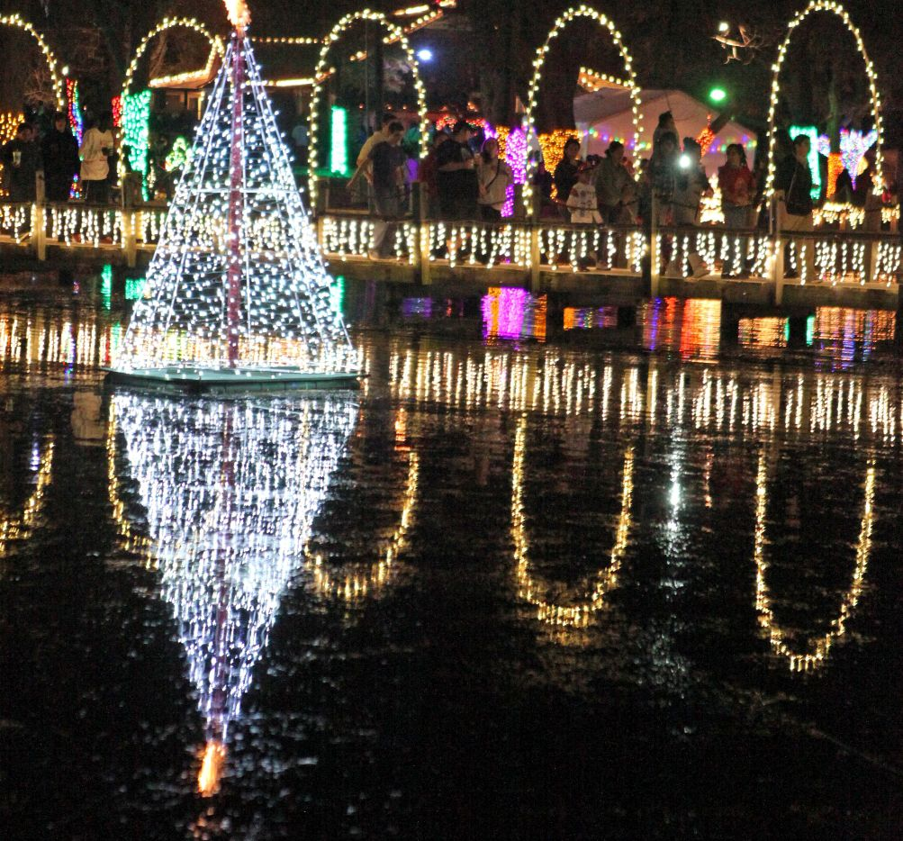Christmas in the Park at Westlake Park in Mesquite.