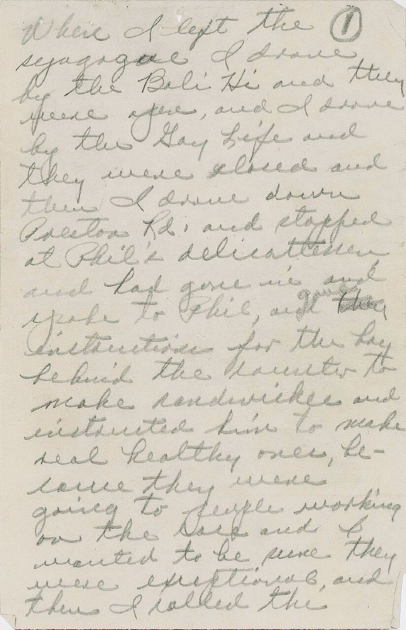 This undated photo provided by RR Auction shows part of a manuscript penned by Jack Ruby, who shot and killed Lee Harvey Oswald days after the assassination of President John F. Kennedy. The manuscript is up for auction Wednesday, Nov. 8, 2017. A medallion worn by Kennedy at Harvard University is also up for auction.