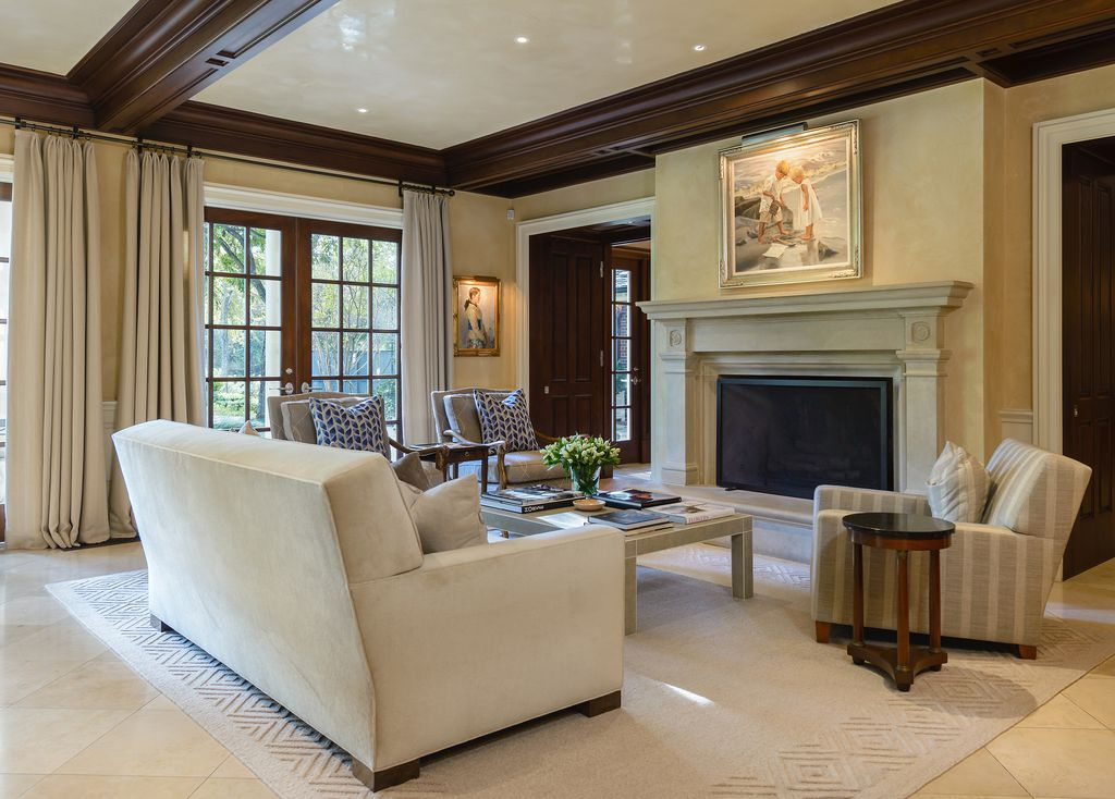 A look at the property on 4800 Park Lane in Dallas. Costa Christ Media