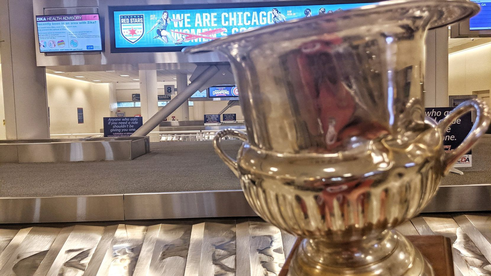 The Brimstone Cup has made it's way to Chicago for the FC Dallas game against the Fire.