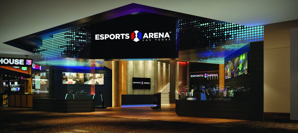 Esports Arena Las Vegas will be the first dedicated esports facility on the Las Vegas Strip.
