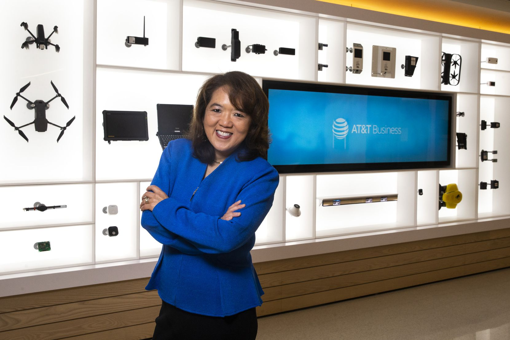 Anne Chow runs AT&T Business, the telecommunications giant's $37 billion unit that provides services to nearly 3 million business customers.