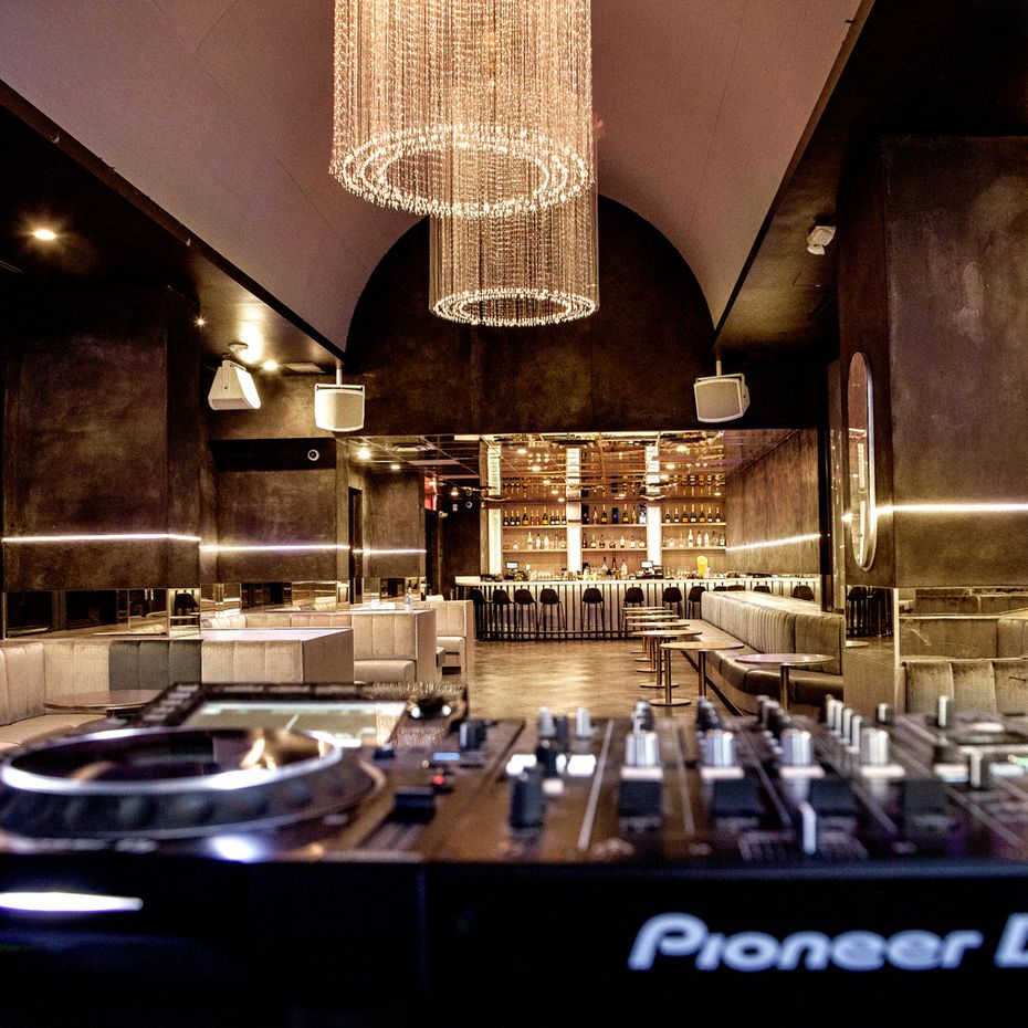 Pazzo is a restaurant that doubles as a nightclub.