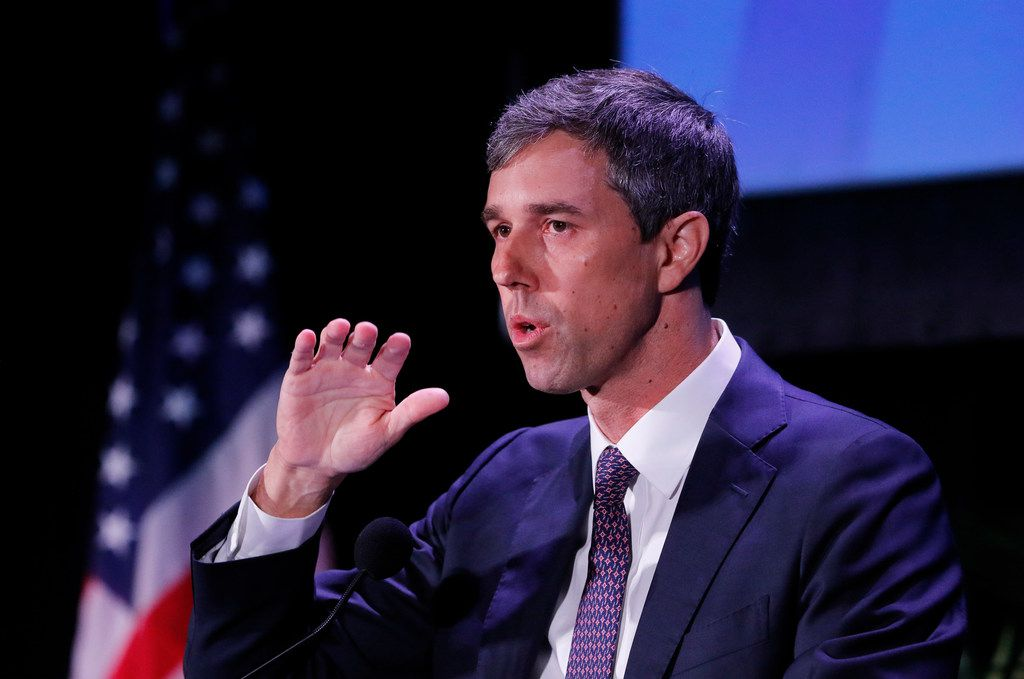 Democratic presidential candidate and former U.S. Rep. Beto O'Rourke speaks at the Democratic presidential candidates NALEO Candidate Forum on June 21, 2019 in Miami.