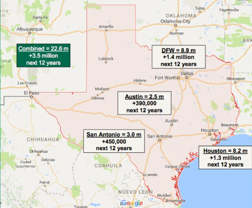 Texas cities are forecast to add millions of new residents in the coming decade — many of them renters.