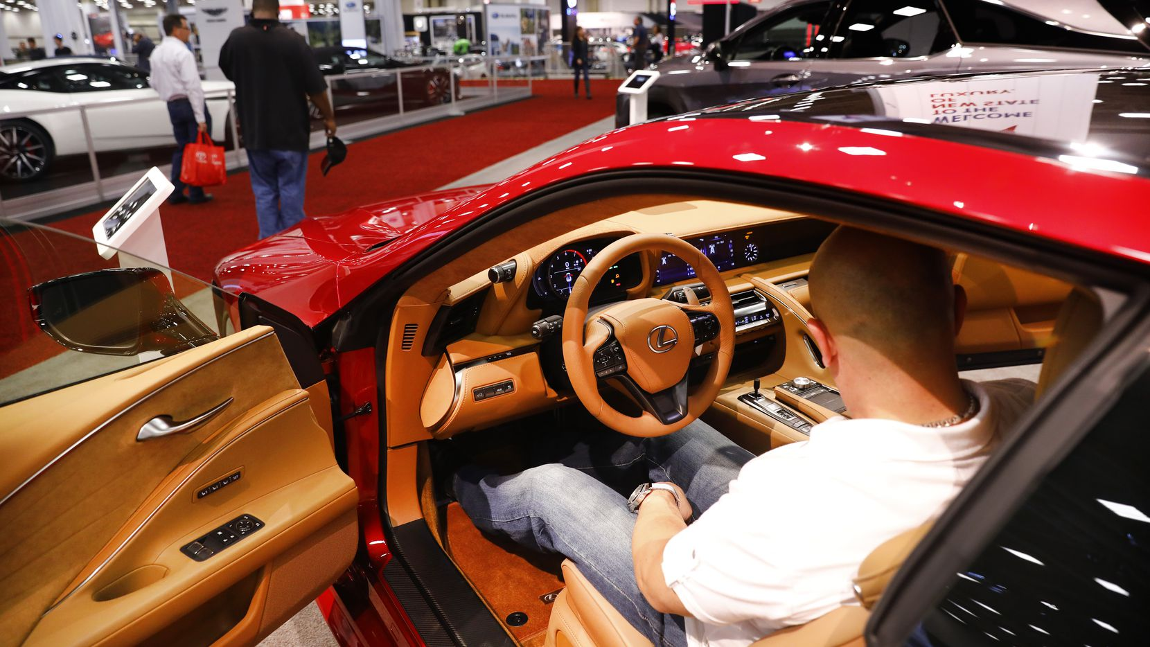 Your spring fever may make a sharp turn into car fever when the Dallas Auto Show gets rolling.
