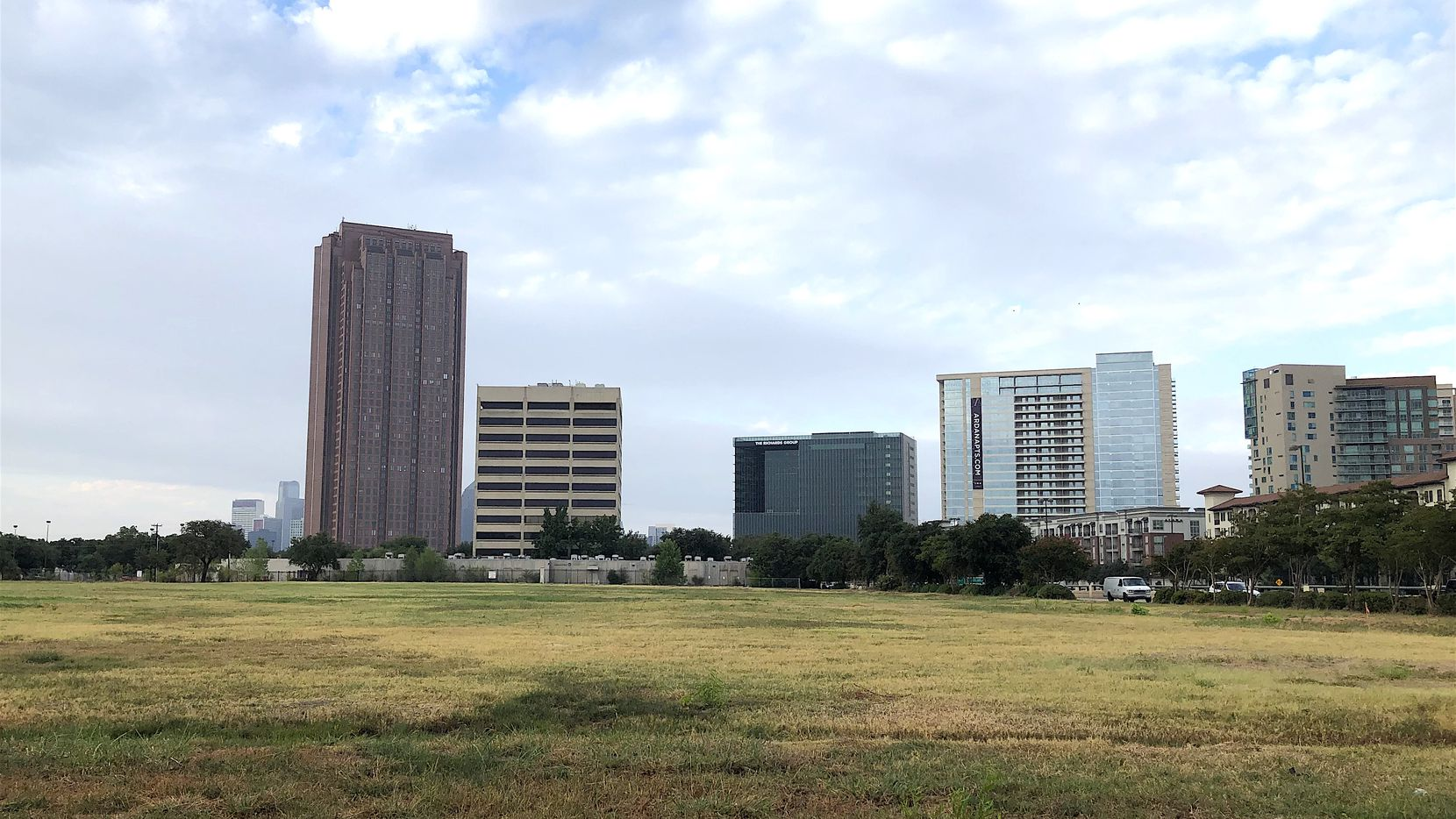 Developer Trammell Crow sold the vacant block at U.S. Highway 75 and Carroll Avenue.