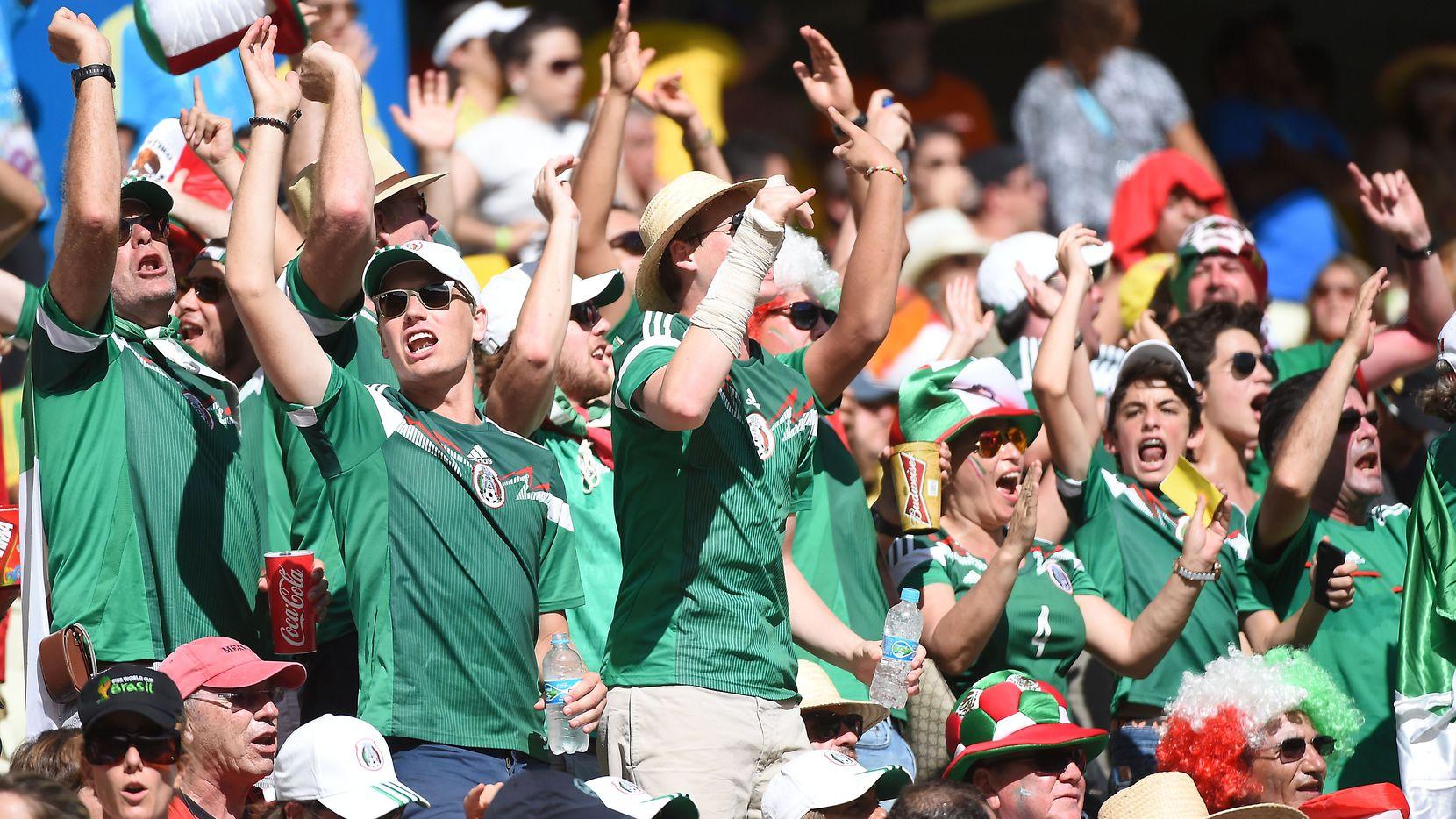 El ambiente de los seguidores de la selección mexicana invadirá el Norte de Texas en la Copa Oro 2021.