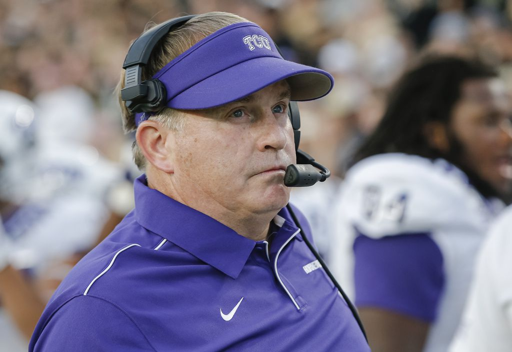 TCU head coach Gary Patterson expects the Frogs to be in a physical battle Saturday at Kansas State.
