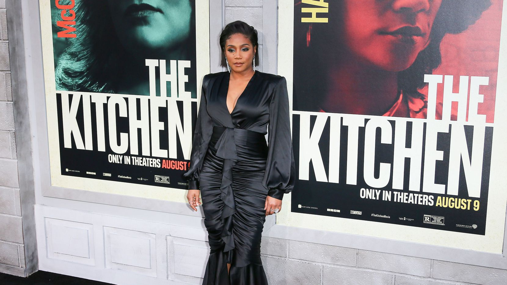 """Actress Tiffany Haddish attends the world premiere of """"The Kitchen"""" at the TCL Chinese Theatre in Hollywood, California on August 5, 2019."""