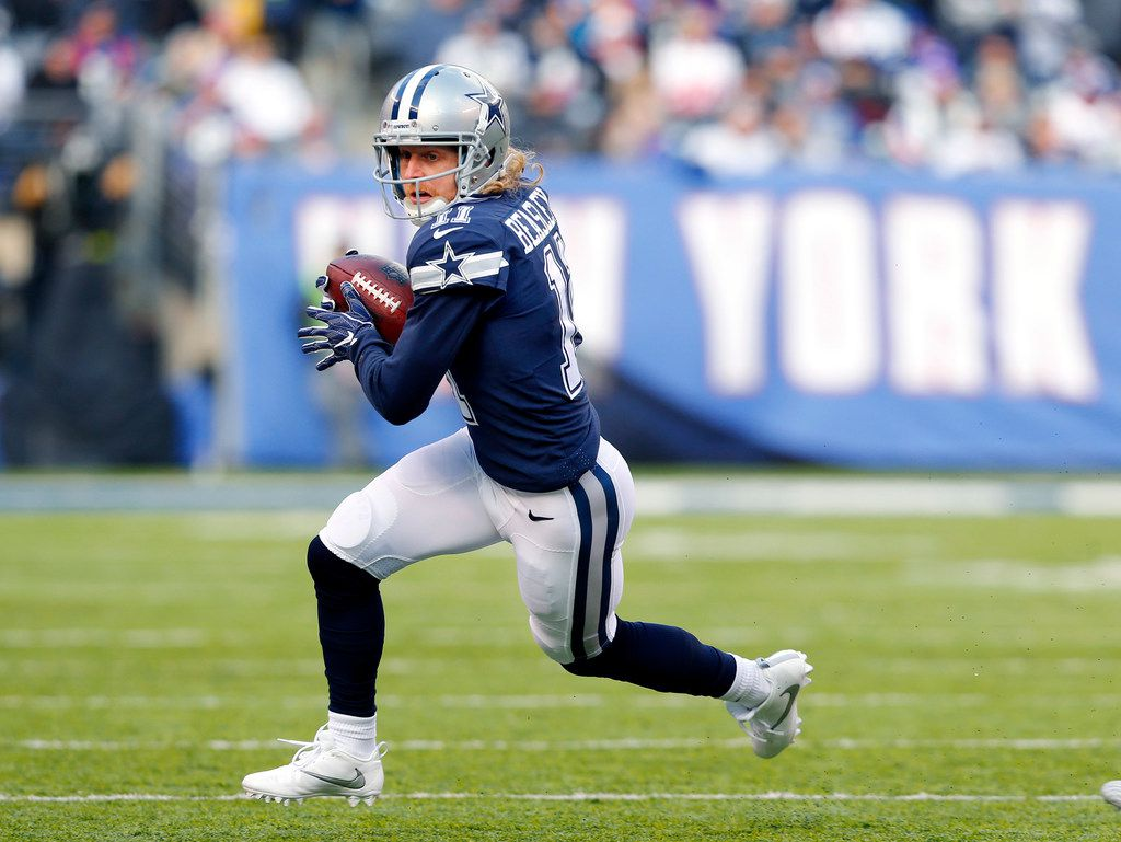 Dallas Cowboys wide receiver Cole Beasley (11) is now a rapper.